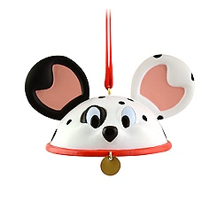 101 Dalmatians Ear Hat Ornament