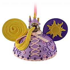 Rapunzel Ear Hat Ornament