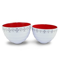 Mickey Mouse Mixing Bowl Set -- 2-Pc.