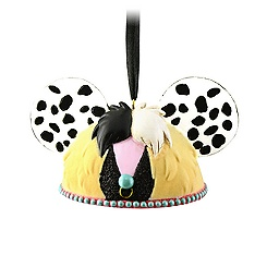 Cruella De Vil Ear Hat Ornament