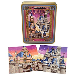 Disneyland and Walt Disney World Castles Postcards Set by Jeff Granito -- 10-Pc.