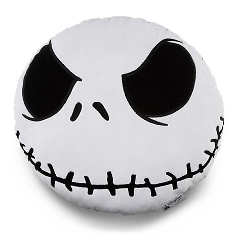 Jack Skellington Head Plush Pillow