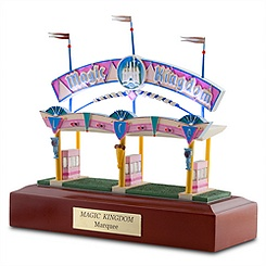 Magic Kingdom Marquee Miniature by Olszewski