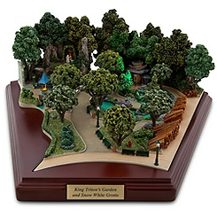 Disneyland King Triton's Garden and Snow White Grotto Miniature by Olszewski