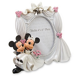 Mickey and Minnie Mouse Wedding Frame