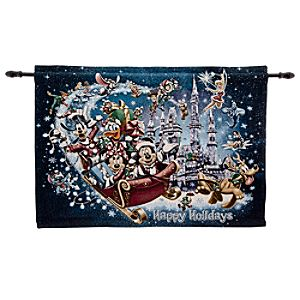 Mickey Mouse Tapestry - Holiday