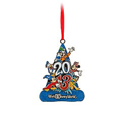 Sorcerer Mickey Mouse Ornament - Walt Disney World 2013