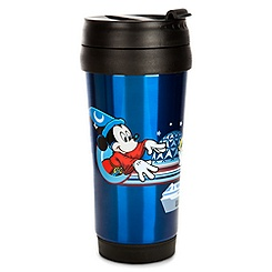 Sorcerer Mickey Mouse Travel Mug - Walt Disney World 2013