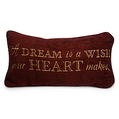 Cinderella Pillow - ''A Dream is a Wish Your Heart Makes''