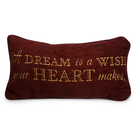 Cinderella Pillow A Dream Is A Wish Your Heart Makes