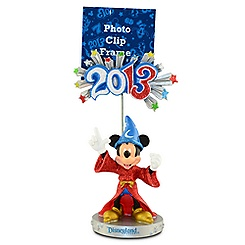 Sorcerer Mickey Mouse Photo Clip Frame - Disneyland 2013