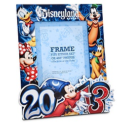 Sorcerer Mickey Mouse Photo Frame - Disneyland 2013