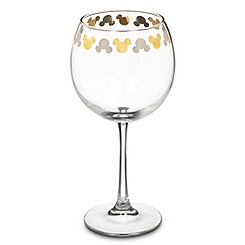 Mickey Mouse Icon Goblet Wine Glass
