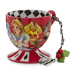 Alice in Wonderland Tea Cup Ornament - Alice