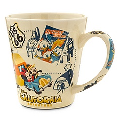 Mickey Mouse and Friends Mug - Disney California Adventure