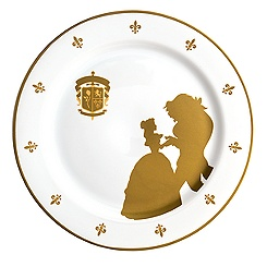 Be Our Guest Dinner Plate - Walt Disney World - 10''