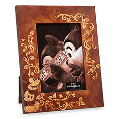 Mickey Mouse Illustrated Wood Photo Frame - 5'' x 7''