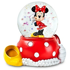 Minnie Mouse Mini Snowglobe - Best of Minnie
