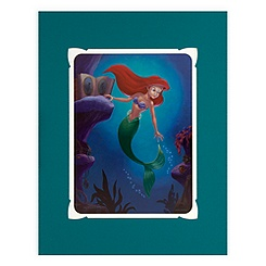 ''Ariel Longing to Dance'' Deluxe Print by Larry Nikolai