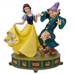 Snow White, Dopey and Sneezy Figure