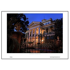 ''Mansion Morning'' Art Print by Scott Brinegar