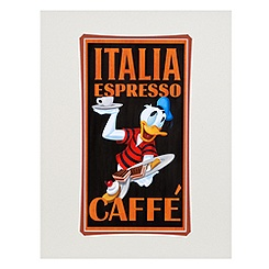 ''Espresso Donald Duck'' Art Print by Brian Blackmore