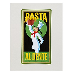 ''Pasta Goofy'' Art Print by Brian Blackmore