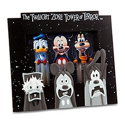Mickey Mouse, Donald Duck, and Goofy Frame - Twilight Zone Tower of Terror