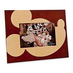 Mickey Mouse Wood Photo Frame - 4'' x 6''