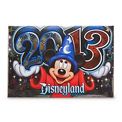 Sorcerer Mickey Mouse Photo Album - Disneyland 2013 - Small