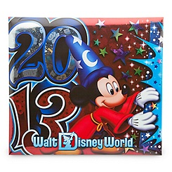 Sorcerer Mickey Mouse Scrapbook Album - Walt Disney World 2013 - Large
