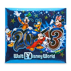 Sorcerer Mickey Mouse Scrapbook Album Kit - Walt Disney World 2013 - Small