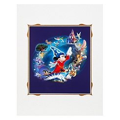Sorcerer Mickey ''Magic Lives'' Art Print