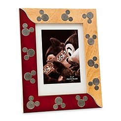 Mickey Mouse Icon Wood Photo Frame - 5'' x 7''