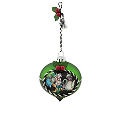 Mad Hatter Glass Drop Ornament