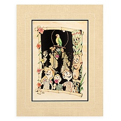 ''The Enchanted Tiki Room'' Deluxe Print by Brian Crosby