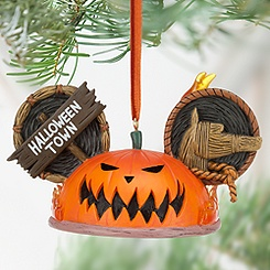 Pumpkin King Ear Hat Ornament - Tim Burton's The Nightmare Before Christmas