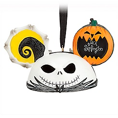 Jack Skellington and Zero Ear Hat Ornament