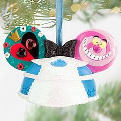 Alice in Wonderland Ear Hat Ornament