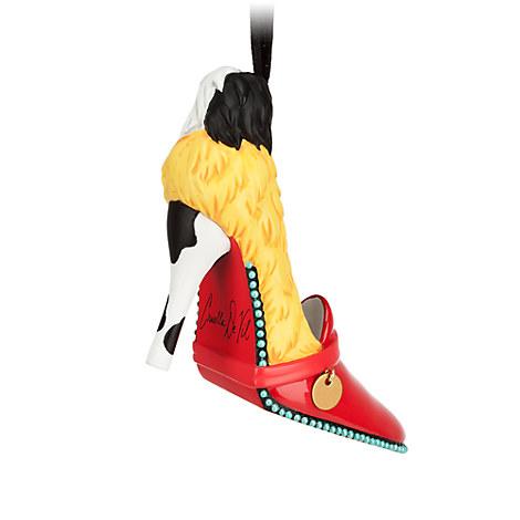Cruella De Vil Shoe Ornament