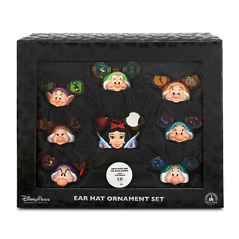 Snow White and the Seven Dwarfs Ear Hat Ornament Set