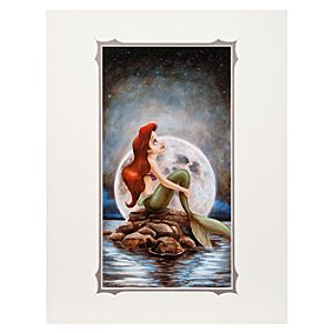 Ariel ''Little Mermaid'' Deluxe Print by Darren Wilson