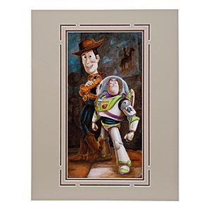 Toy Story ''Buzz & Woody'' Deluxe Print by Darren Wilson