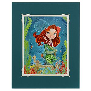 Ariel ''Imagine'' Deluxe Print by John Coulter