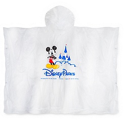 Mickey Mouse Disney Parks Poncho for Adults