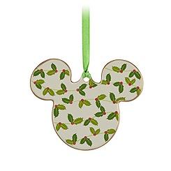Mickey Icon Ornament - Holly