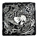 Mad Tea Party Tile Coaster