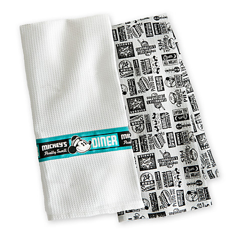 Disney Store - Mickey's Diner towels