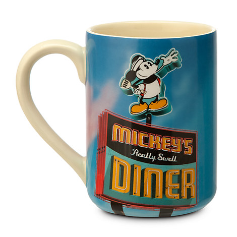 Disney Store - Mickey's Diner coffee mug