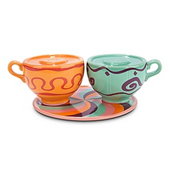 Mad Tea Party Salt and Pepper Set